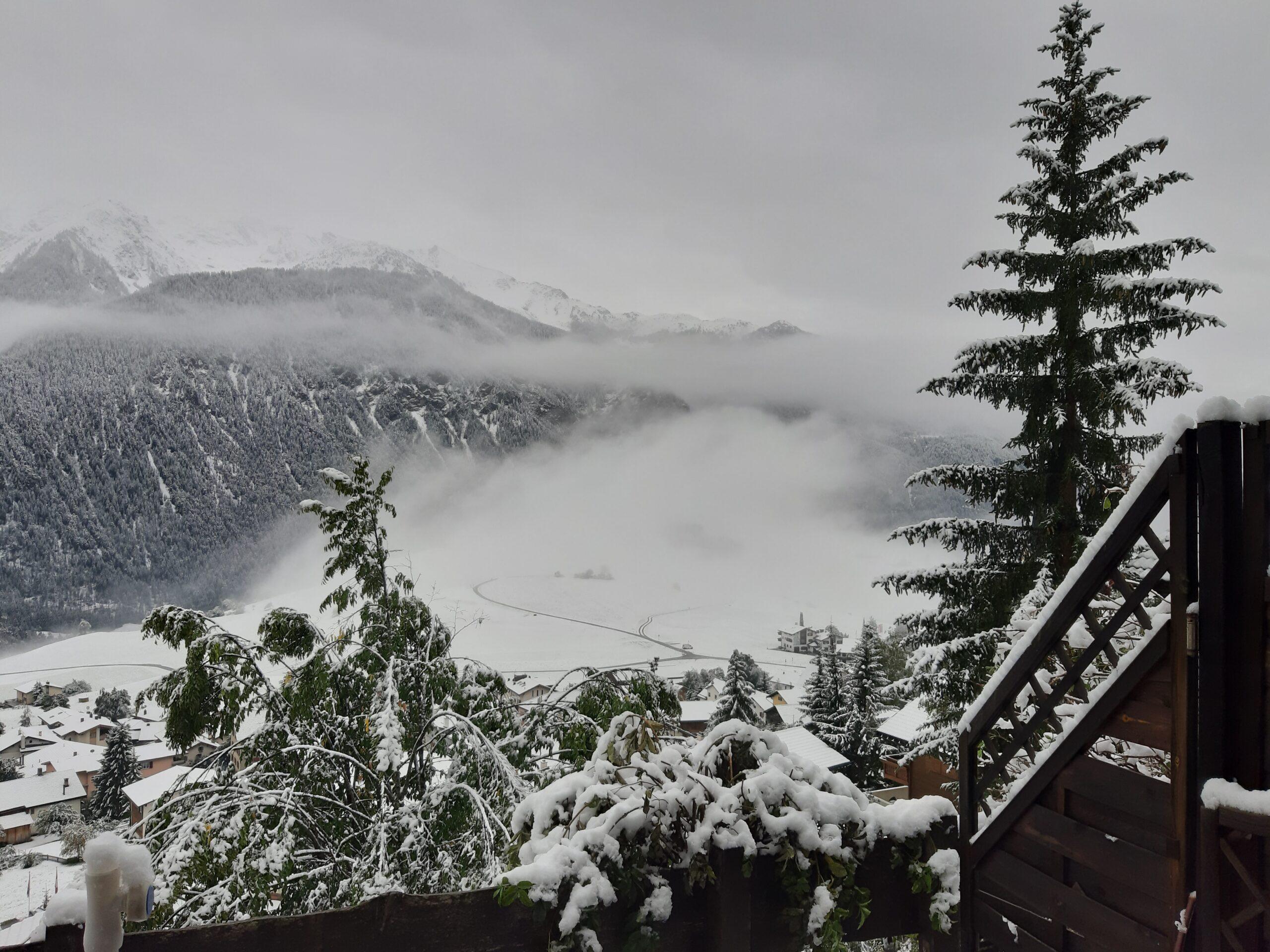 Alvaneu im Schnee