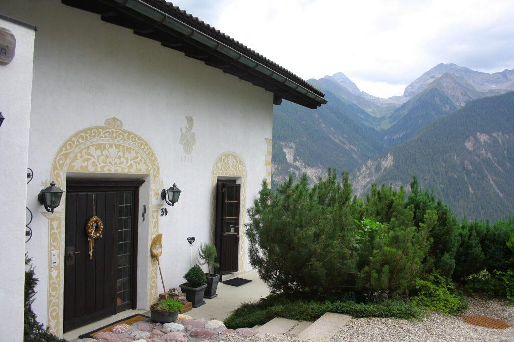 Chalet Conzen Eingangsbereich