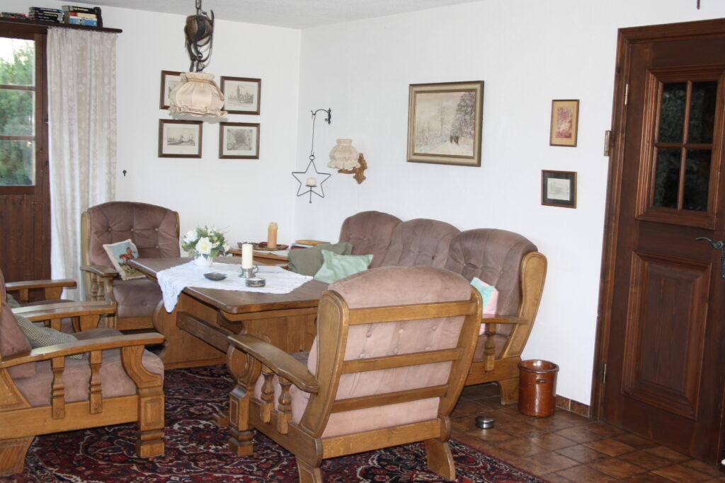 Chalet Conzen Wohnzimmer Sitzgruppe