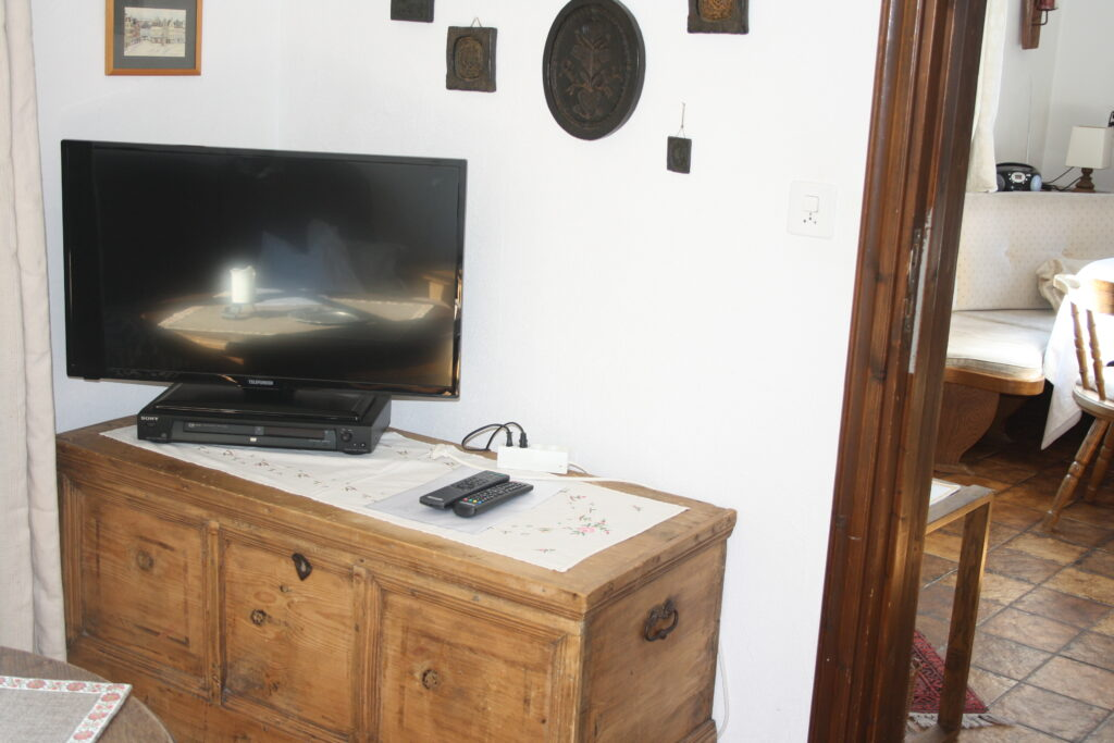 Chalet Conzen separater Fernseh-TV-Raum